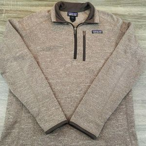 Patagonia L/S 1/2 Zip Pull Over Sweater Mens Sz S